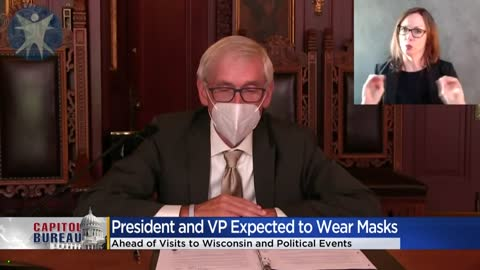 Evers expects Trump to wear mask during visit next week